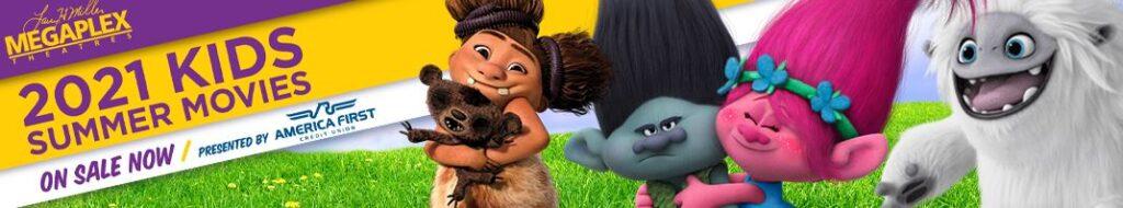 Megaplex Summer Movies for Kids
