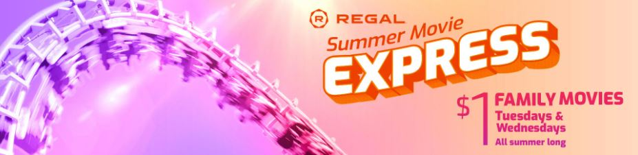 Regal Summer Movies for Kids
