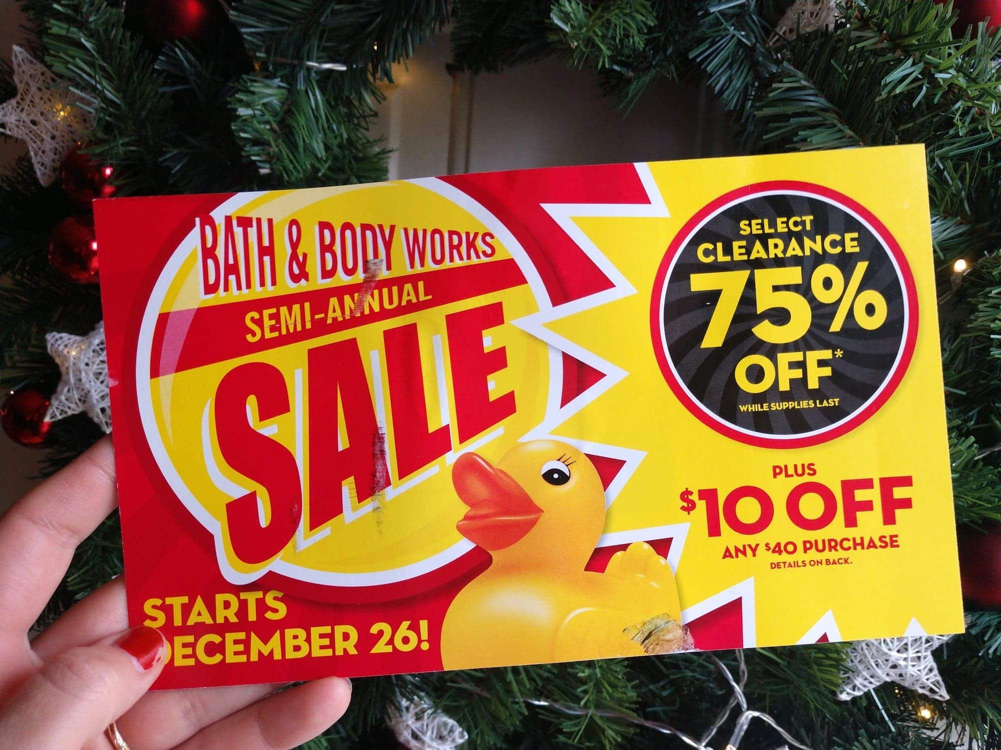 7 Ways To Save At Bath Body Works Semi Annual Sale Live Now