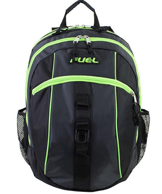 Lime Green Black Fuel Backpack