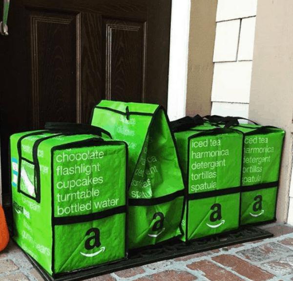 Amazon Fresh Coolers