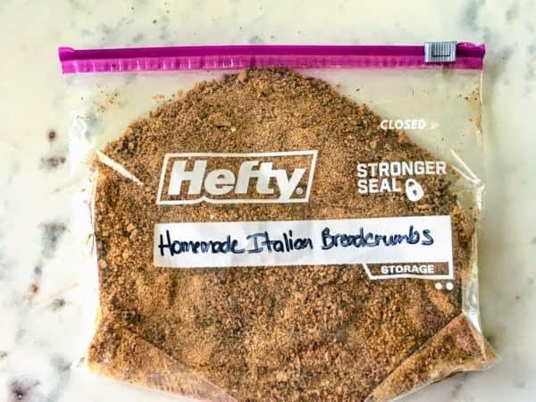Homemade Italian Breadcrumbs