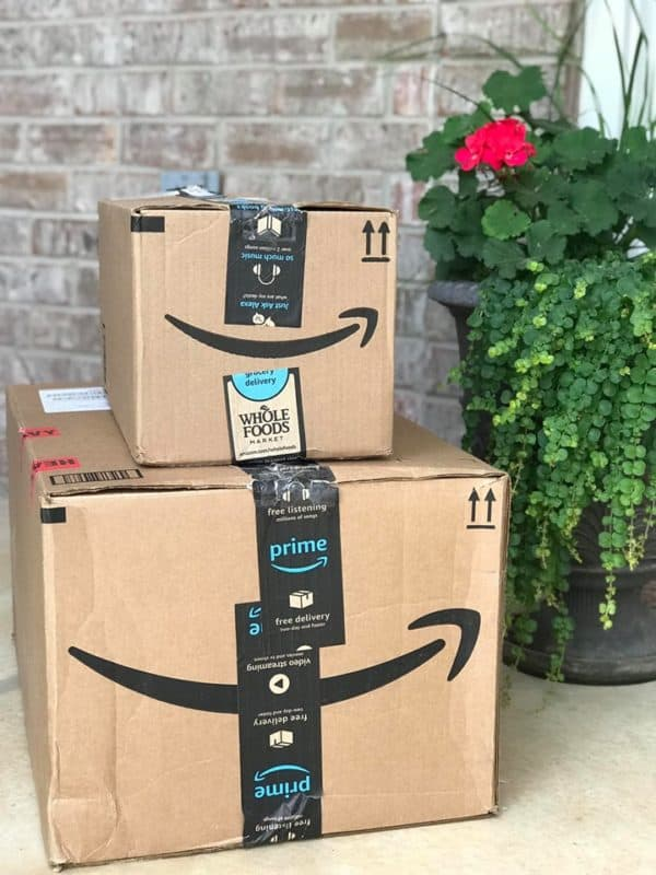 Early Amazon Prime Day Deals Amazon Boxes on A Porch