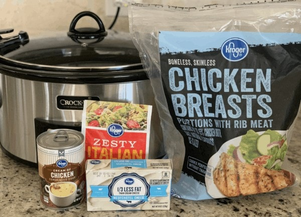 Slow Cooker Chicken Alfredo Ingredients