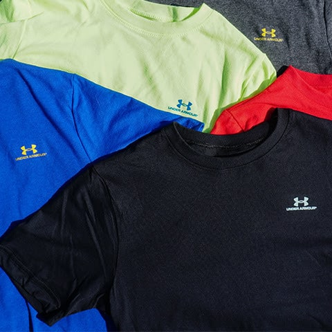 perspectiva miembro constructor  Boy's Under Armour T-Shirts $8.50 Shipped!