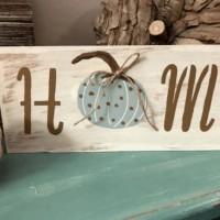 Farmhouse Pumpkin Sign - Make It In Less Than 30 Minutes!