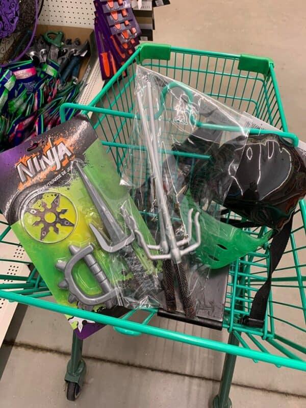 Ninja Costume items
