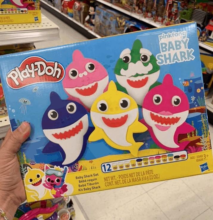Play-Doh Sets Baby Shark Box
