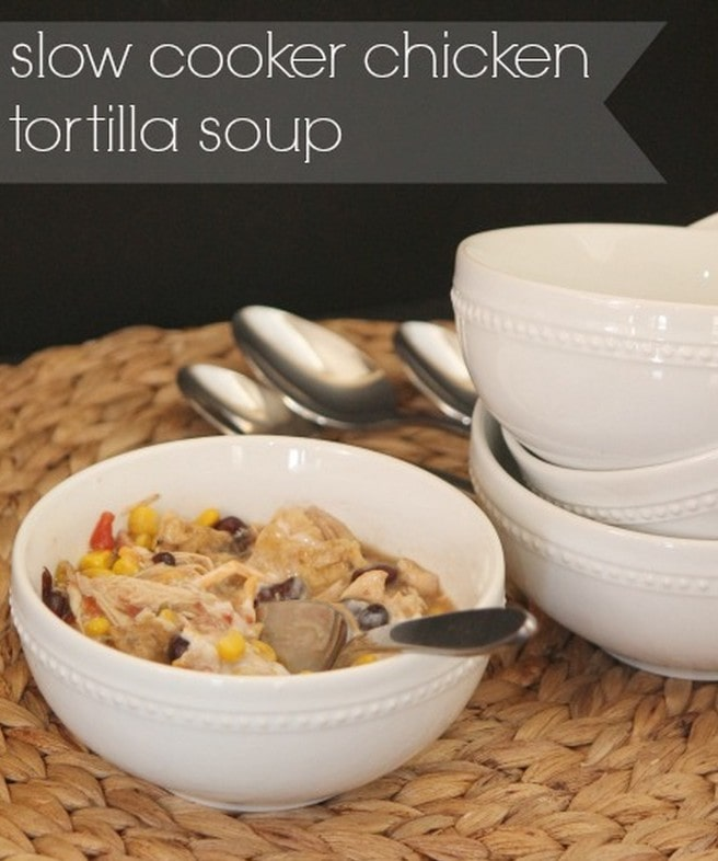 Chicken Tortilla Soup Crock Pot