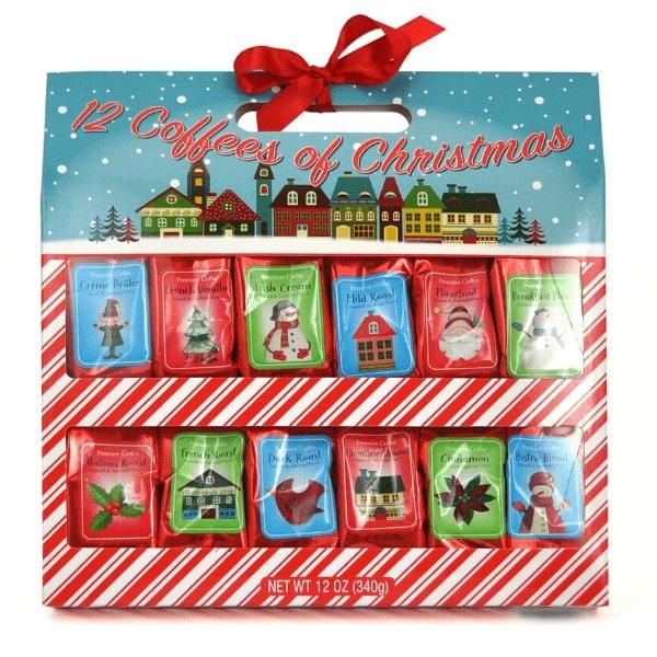 12 Coffees of Christmas Gift Basket
