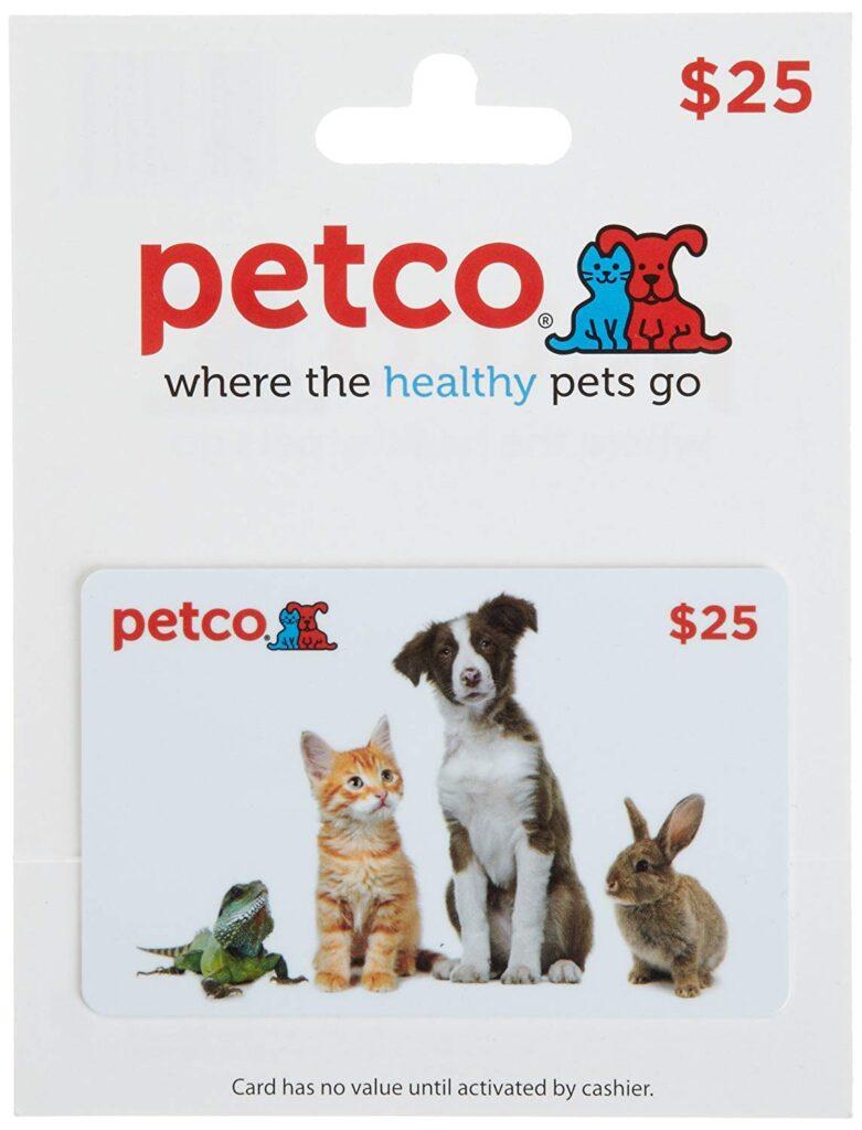 PetCo Gift Card Sale