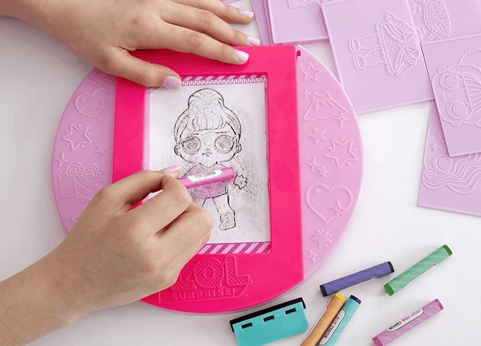 L O L Surprise Fashion Plates Design Activity Kit Around 7 Reg