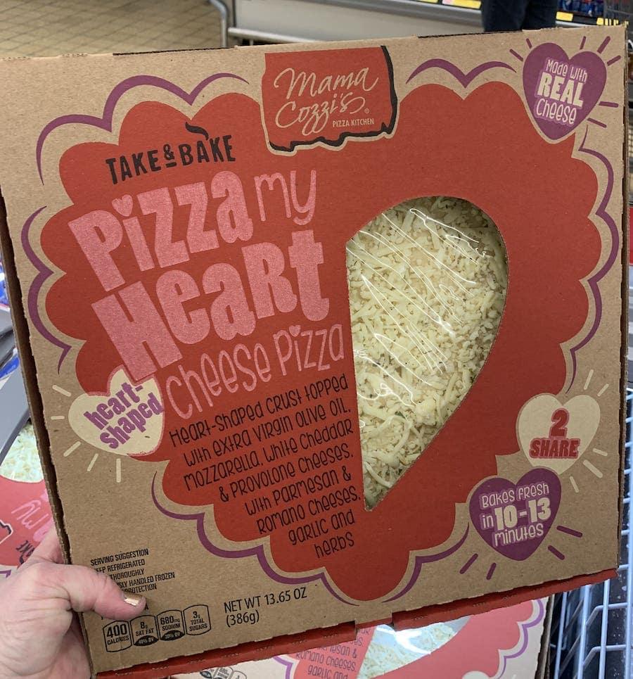 Aldi valentines pizza