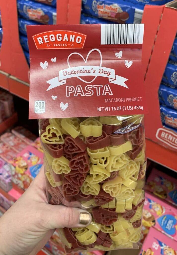 Aldi heart shaped pasta