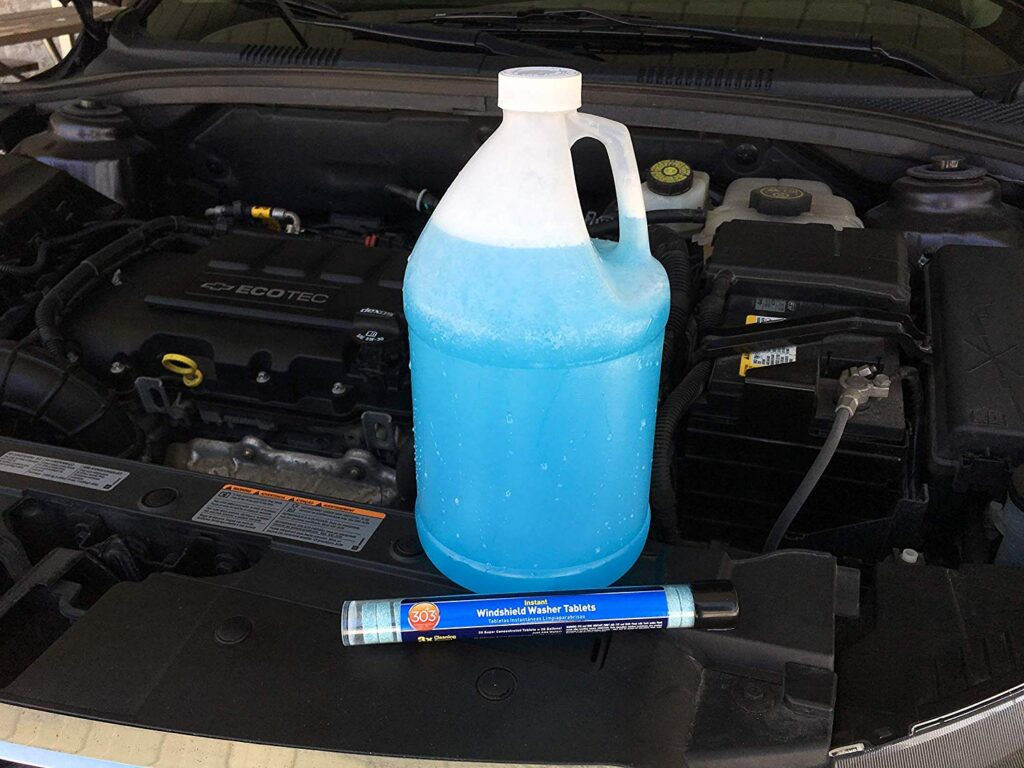 Instant Windshield Washer Tablets