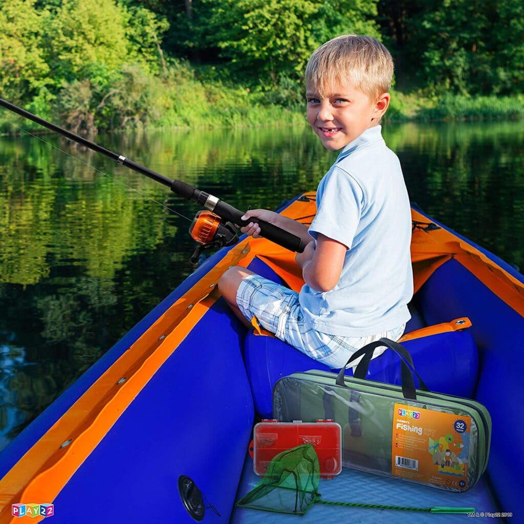 Kids Fishing Pole Kit