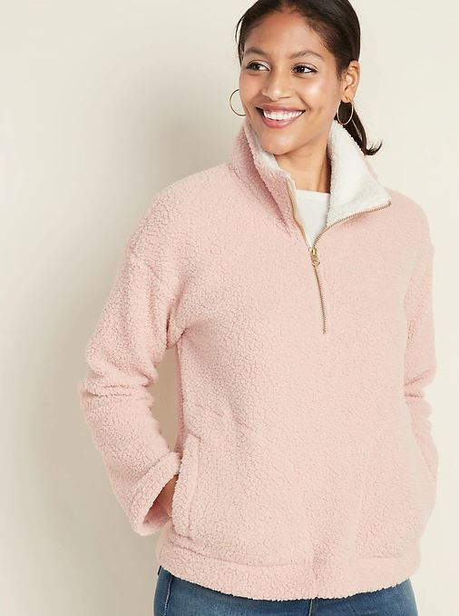 Old Navy Sherpa Pullover