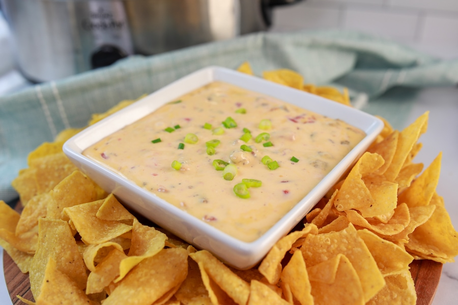 Rotel Dip with Chips
