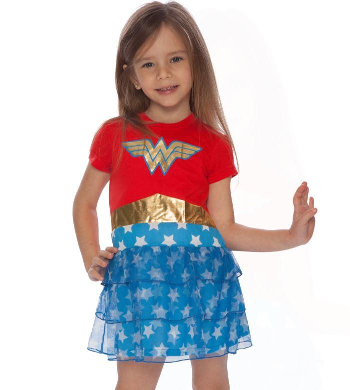Wonder Woman Kids Nightgowns