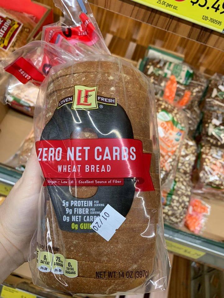 aldi zero net carb bread
