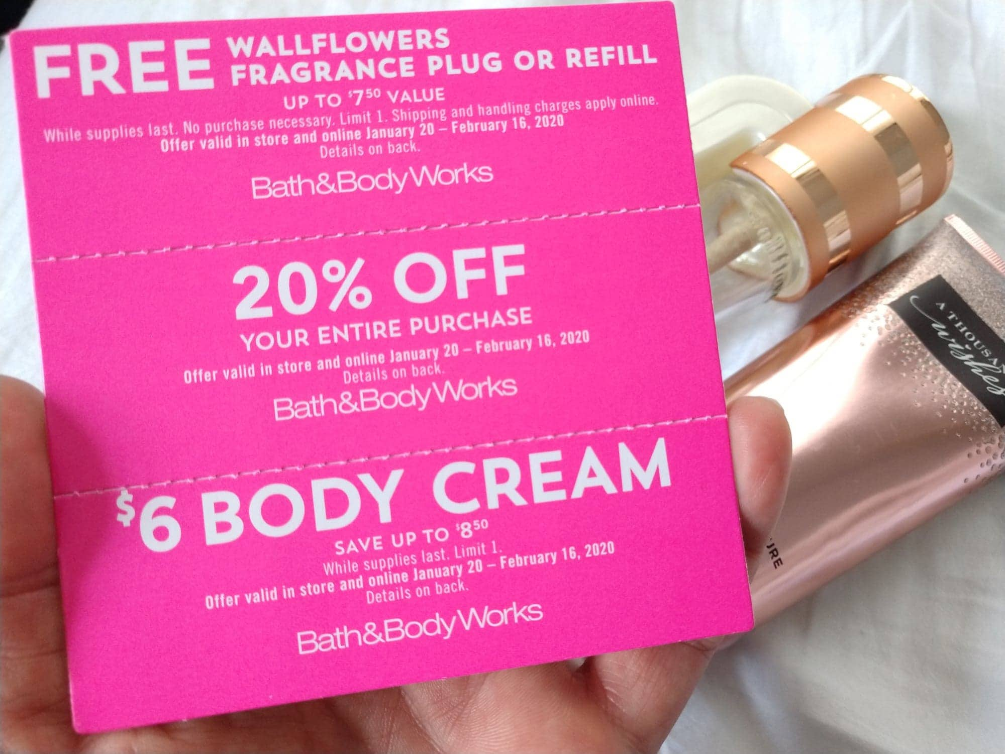 Free Bath Body Works Wallflower No Purchase Necessary