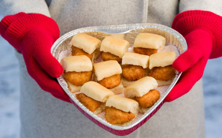 Valentines day deals Heart Shaped Nuggets
