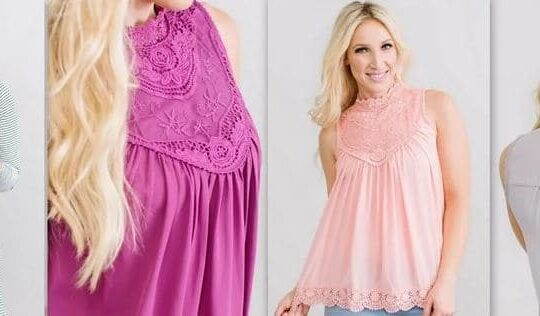 Perfect Lace Tank Multiple Styles