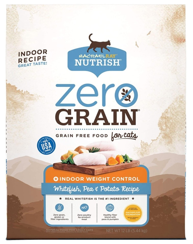 Rachael Ray Nutrish Cat Food Zero Grain