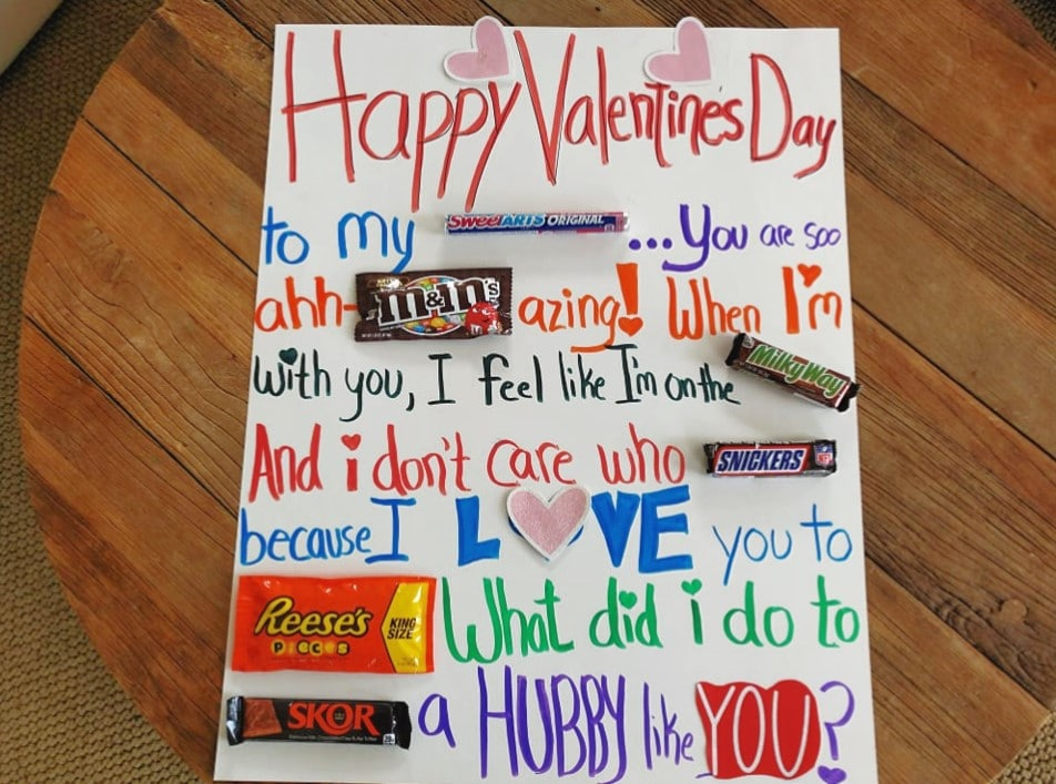 Make This Cheap Easy Candy Gram Card For Valentine S Day