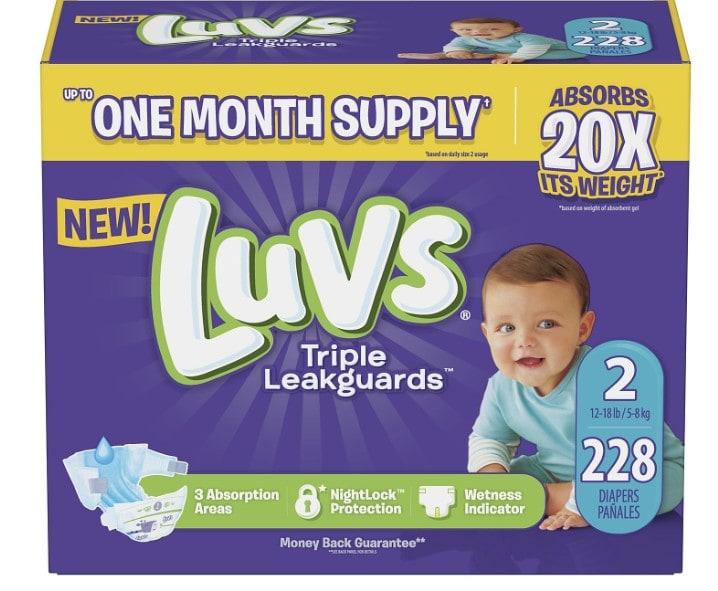 Amazon Luvs Diapers Deal Beats Walmart By 10