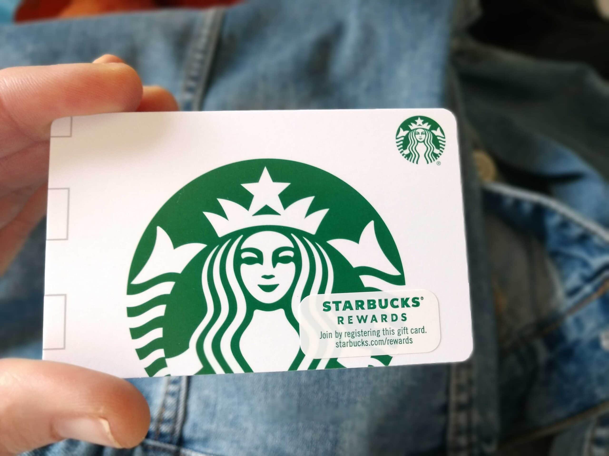 Sell Starbucks Gift Card