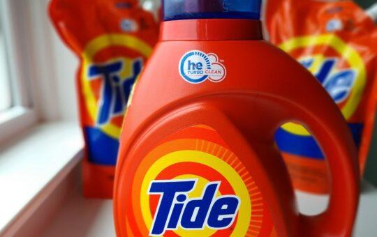 bottle of tide