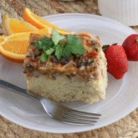 Crockpot Breakfast Casserole   Perfect for anytime!