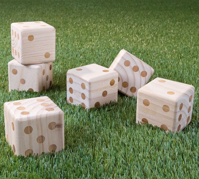 Oversized Yard Dice