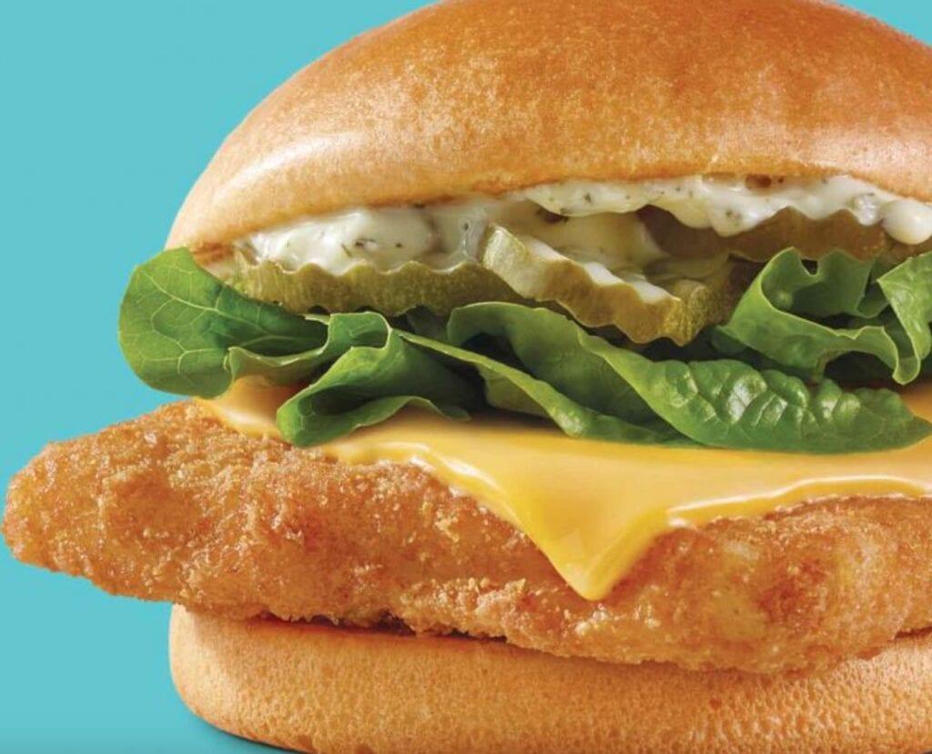 Wendy's Panko Fish Sandwich