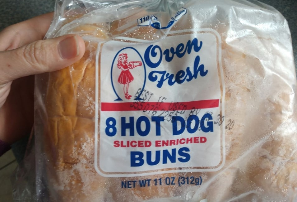 how to freeze bread and buns