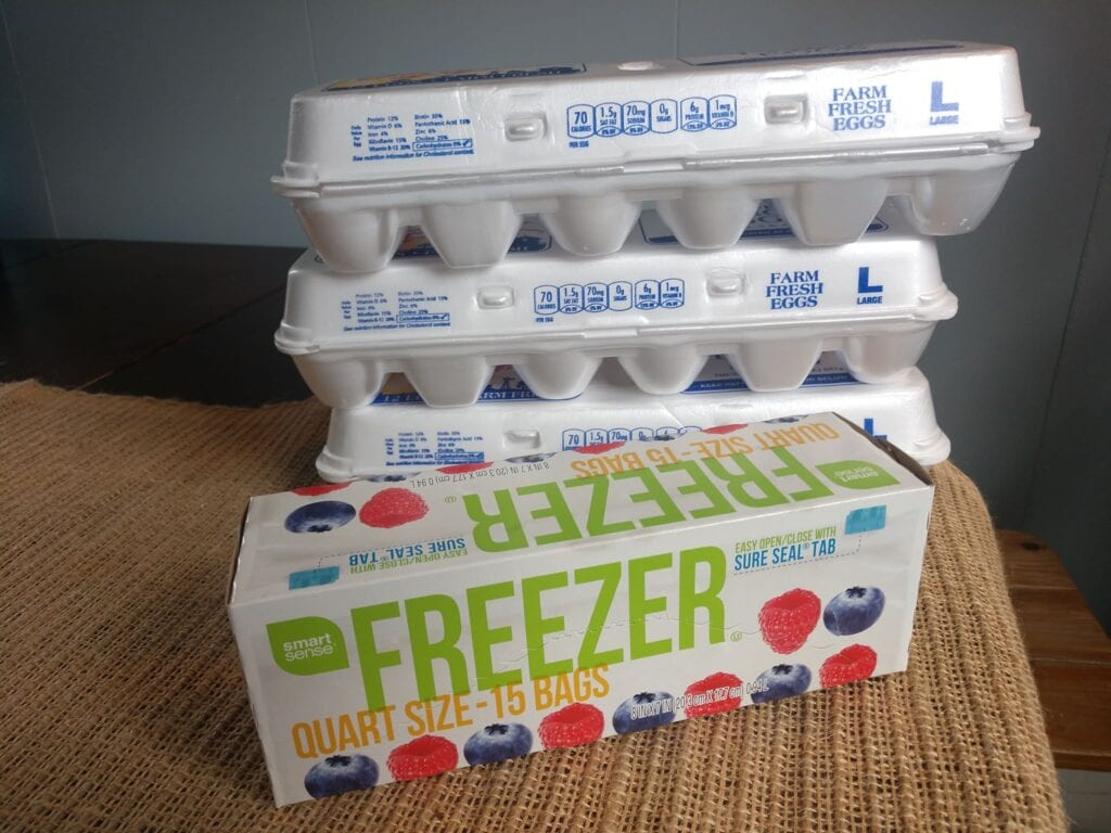 can you freeze eggs