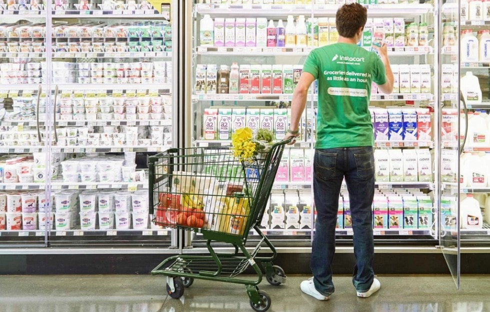 instacart shoppers are fast and pick good replacements