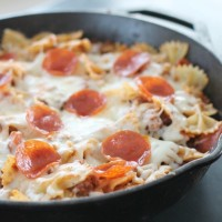 Pizza Pasta Bake Recipe - Easy, Delicious, and Family Friendly!