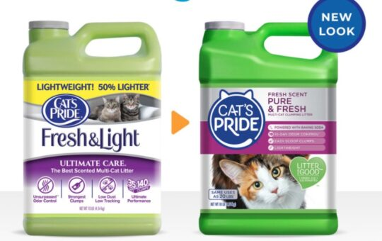Cat's Pride Cat Litter New Look