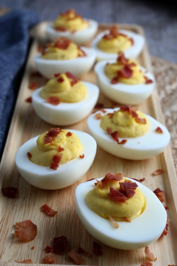 Eggs Finished with Bacon