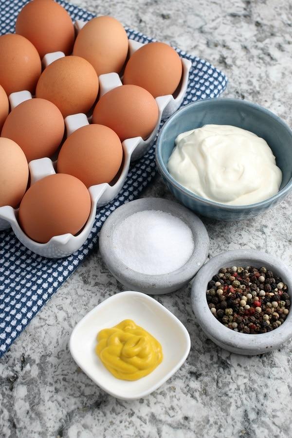 Deviled Egg Recipe Ingredients