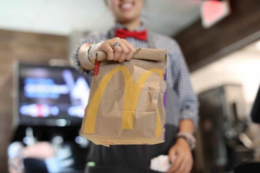 McDonald's App Deals McDonald's Bag