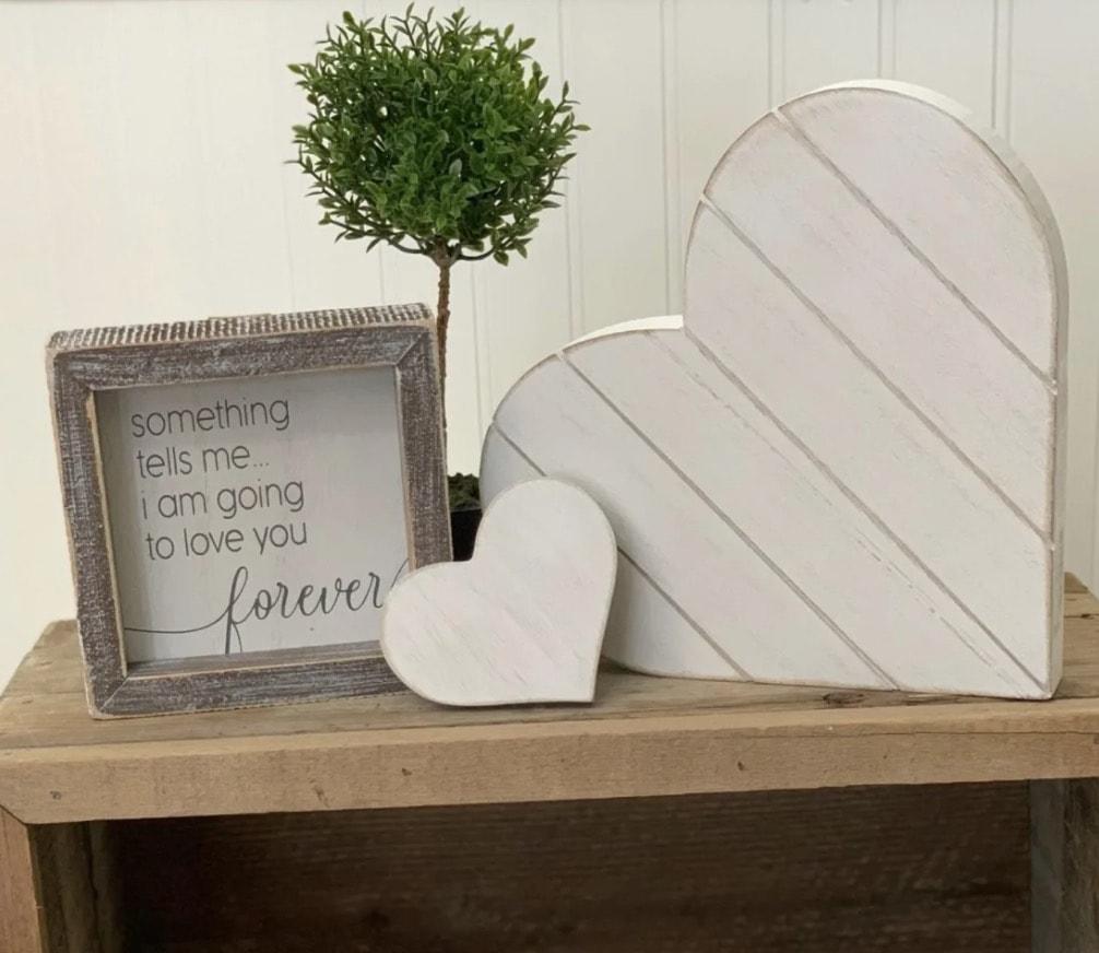 Shiplap Heart