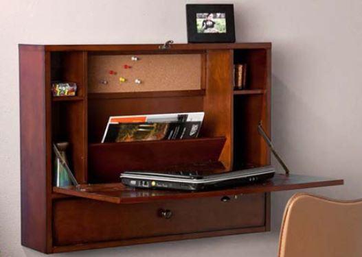 Wall Mount Laptop Desk