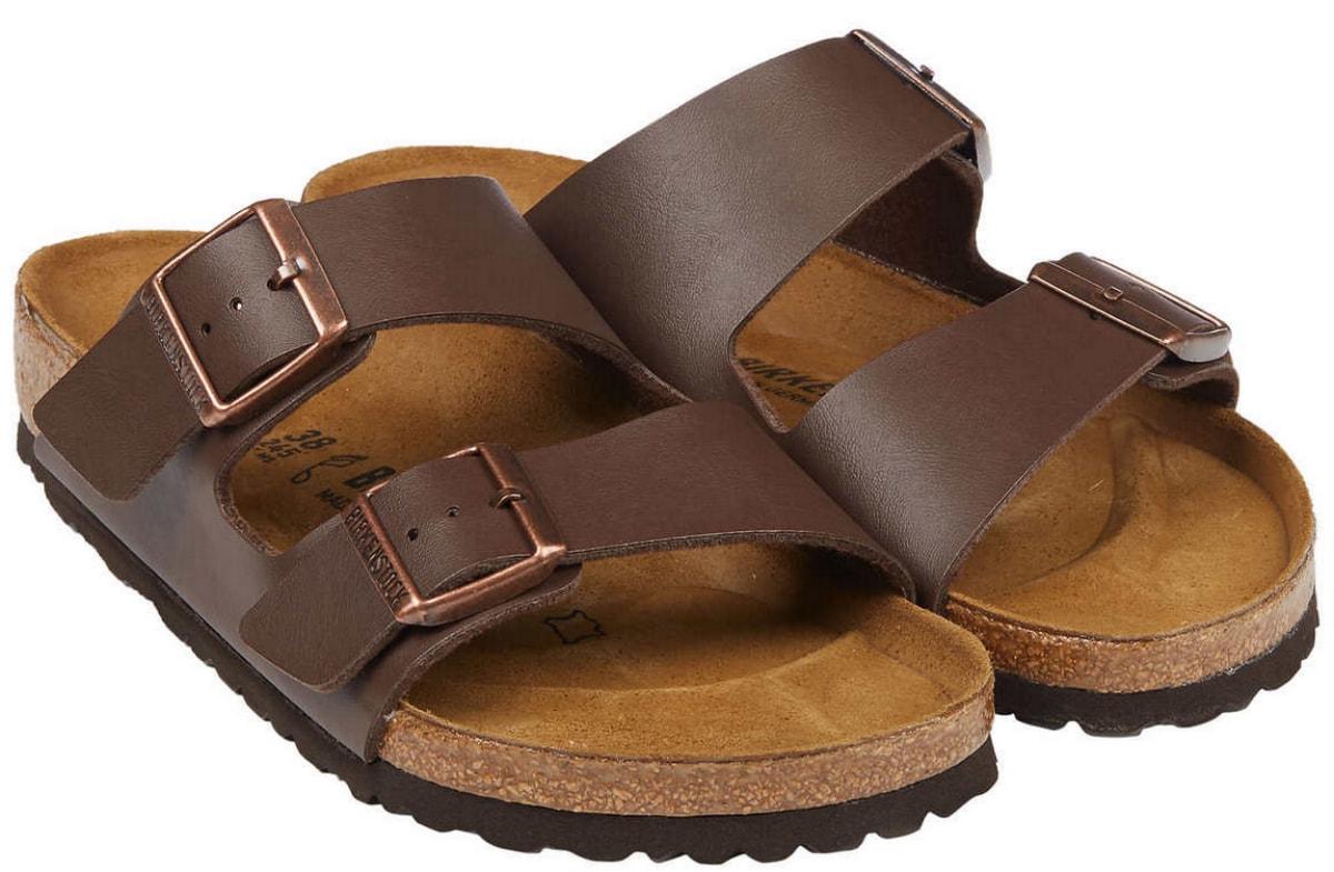 women's brown birkenstock sandals