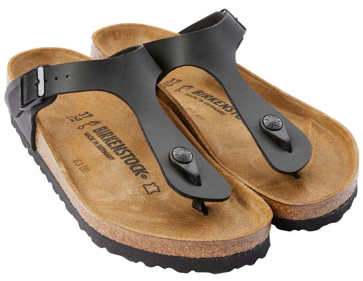 women's black birkenstock sandals
