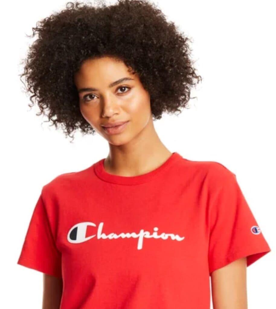 champion sale heritage tee