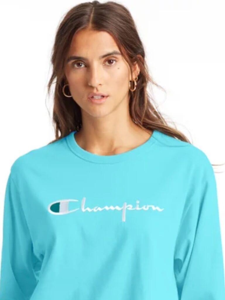 champion sale boyfriend tee