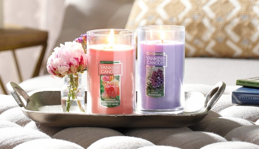 yankee candle coupon pillar candles with flower